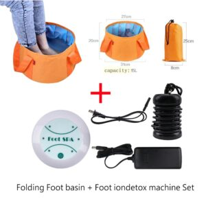 ionic detox massage machine foot bath wi description 0