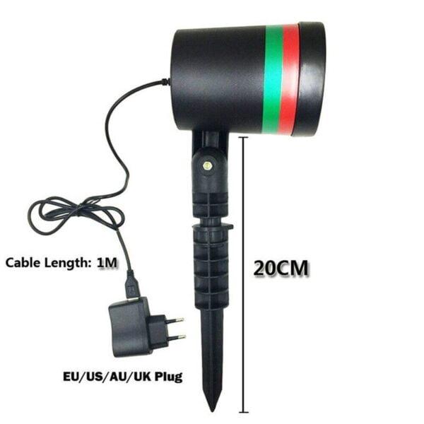 ancaka christmas led laser projector st main 5