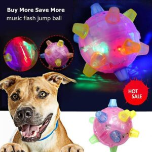 Jumping toy ball for dog