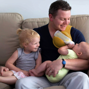 Hands-Free Baby Rotatable Bottle